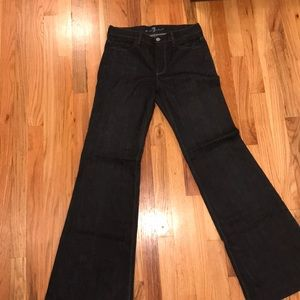 7 for All Mankind wide leg Ginger jean